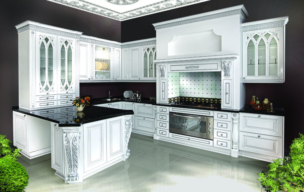 Кухня в классическом   luxkitchennet